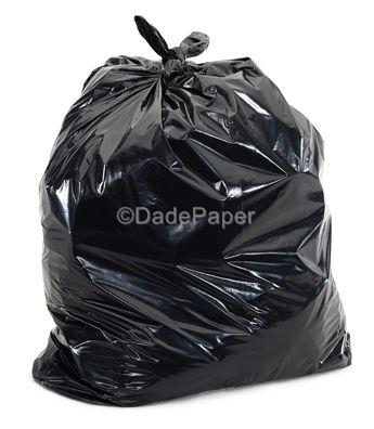 GARBAGE CAN LINER 7-10 GALLON BLACK 500/