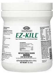 EZ KILL DISINFECTANT WIPES 6